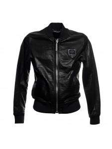 Кожаная куртка PPL черного цвета
