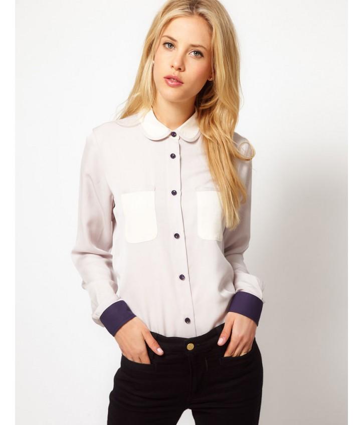 Женские школьные рубашки