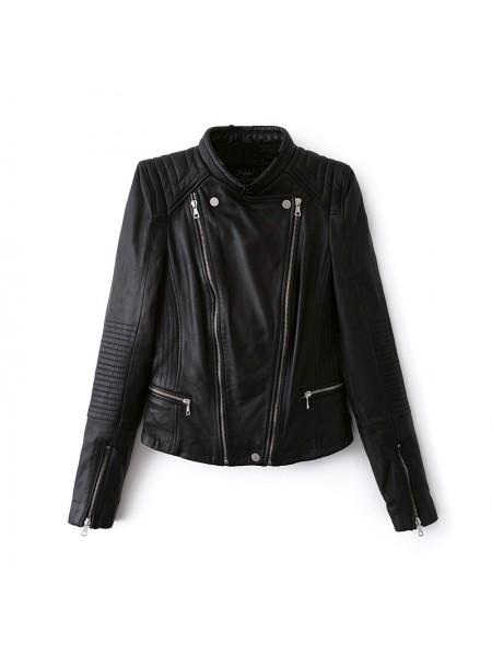 bbbf97f0899 Купить женские кожаные куртки в Киеве — цены и фото коллекций 2019 года