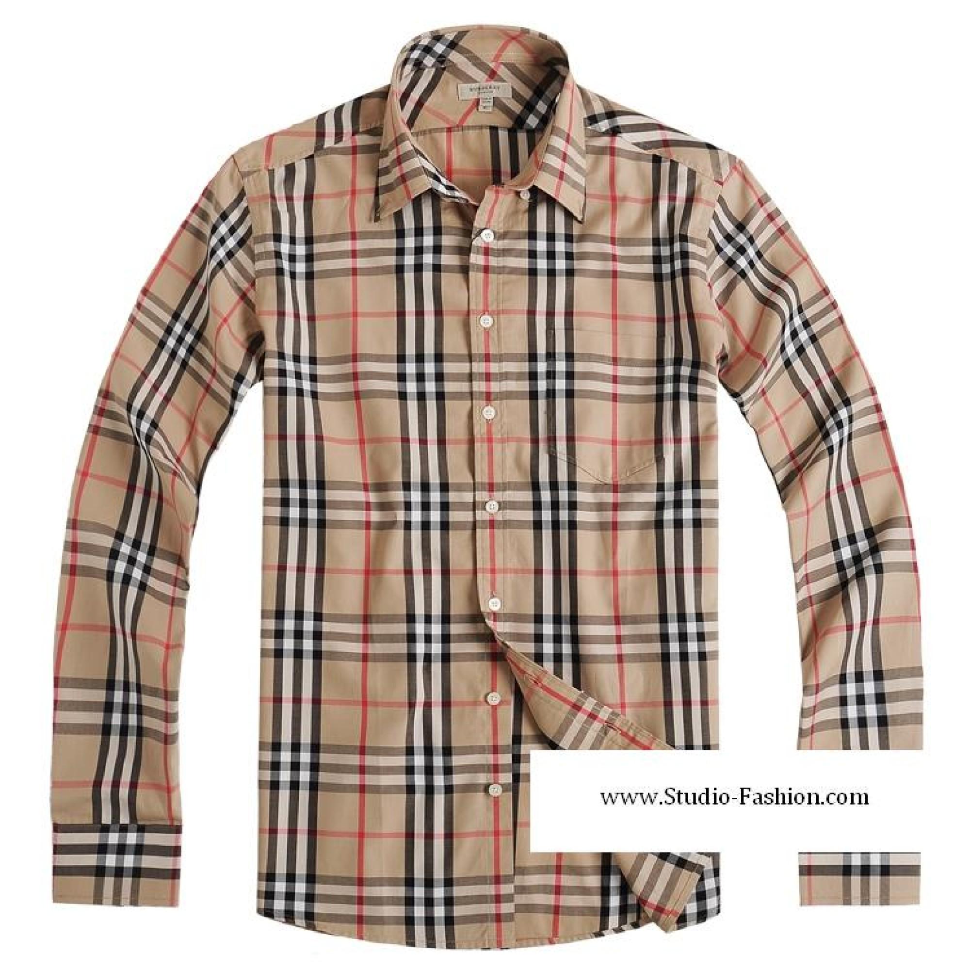 244f1e2cb662 Купить мужская клетчатая рубашка burberry — в Киеве, код товара 1257