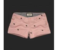 Розовые шорты Abercrombie Fitch