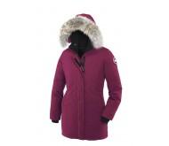 Фиолетовый теплый пуховик Canada Goose