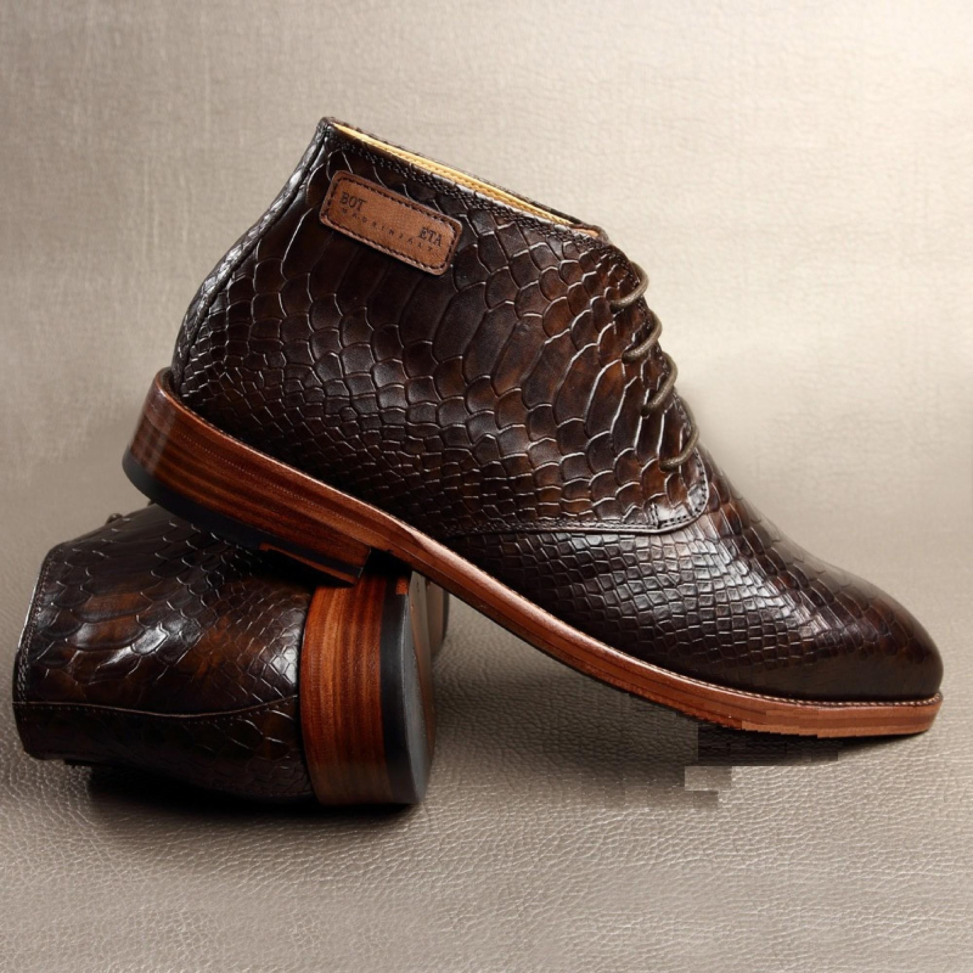 63a63ce6ad39 Коричневая мужская обувь Bottega Veneta