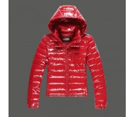 Красная зимняя куртка Abercrombie fitch