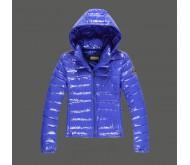 Синяя зимняя куртка Abercrombie fitch