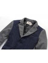 Купить стильное мужское пальто-пиджак Burberry — в Киеве, код товара ... cd58f127e0f