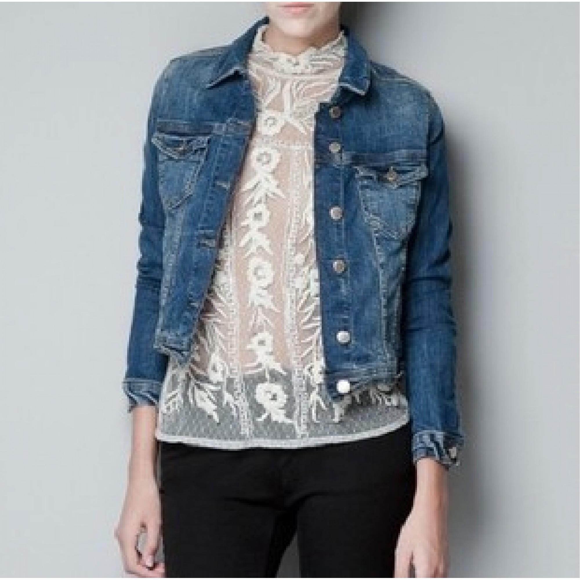 c748268c Купить женская джинсовая куртка Zara — в Киеве, код товара 7601