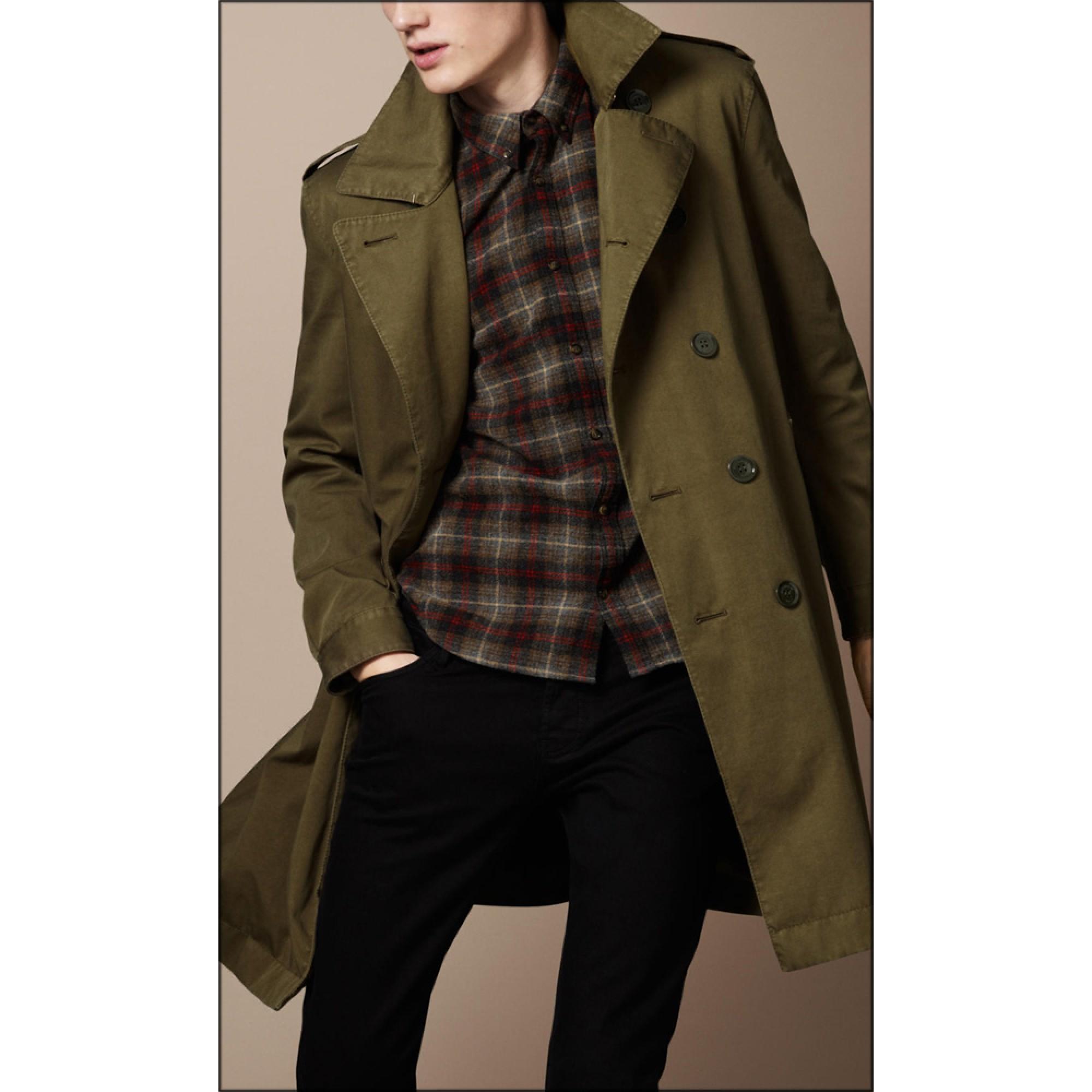 Купить стильное мужское пальто Burberry — в Киеве 30ff4c3e72db0