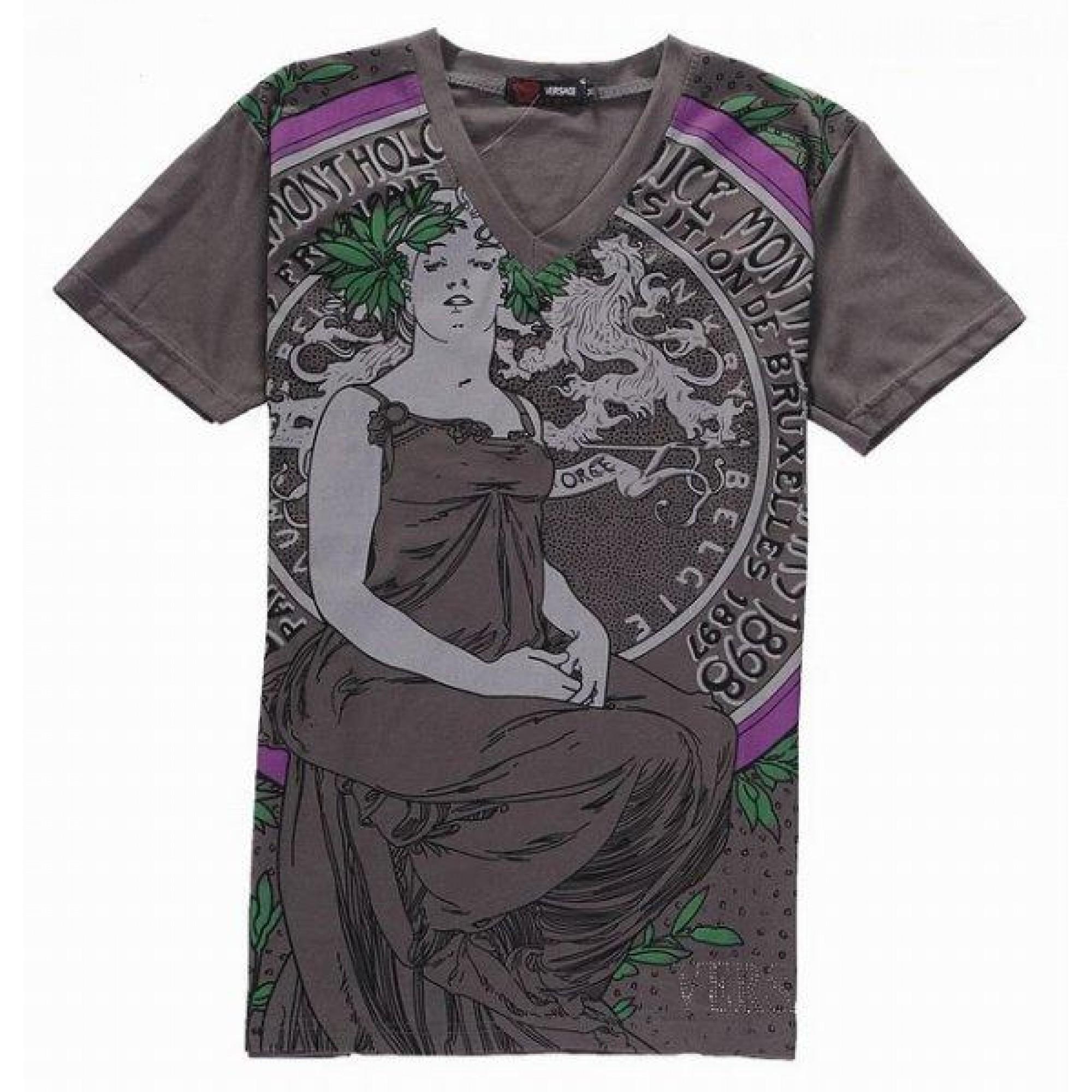 66985dca29861 Купить яркая футболка Versace — в Киеве, код товара 6722