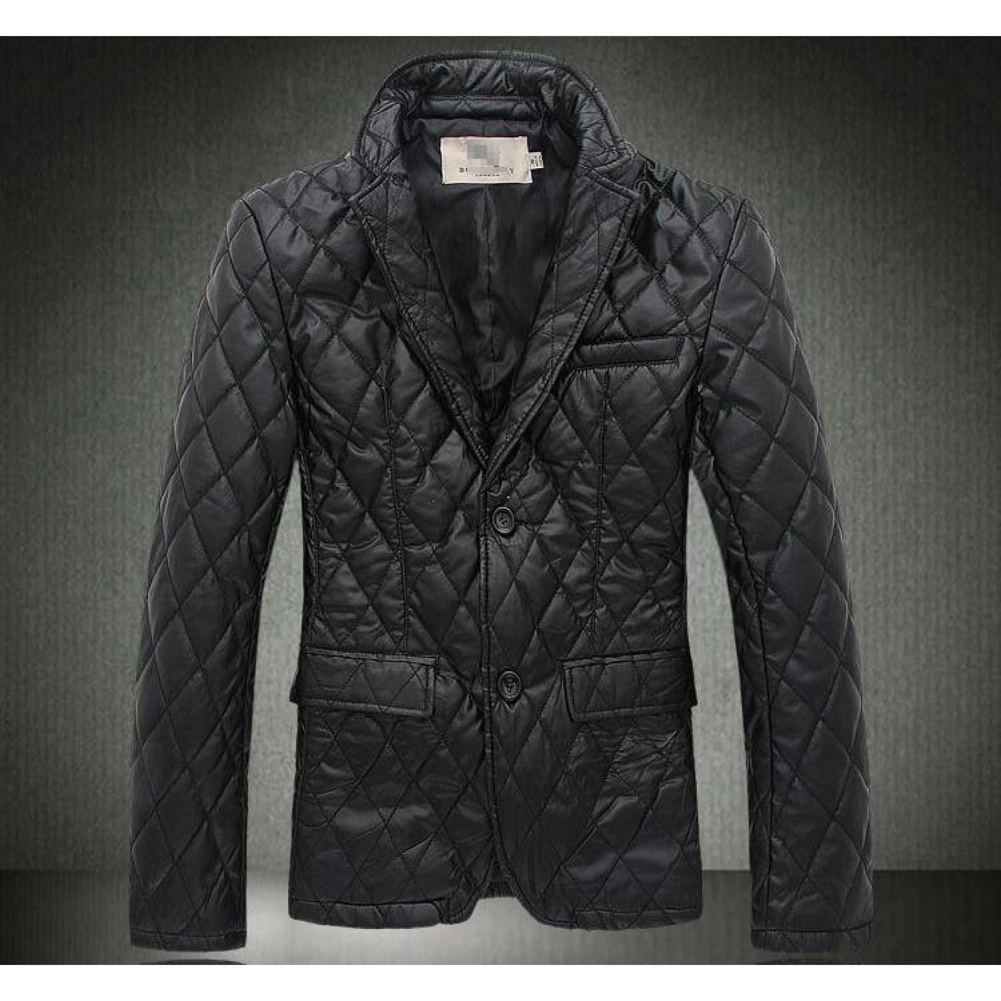 Купить приталенная мужская курточка Burberry — в Киеве, код товара 7492 7008e15db17