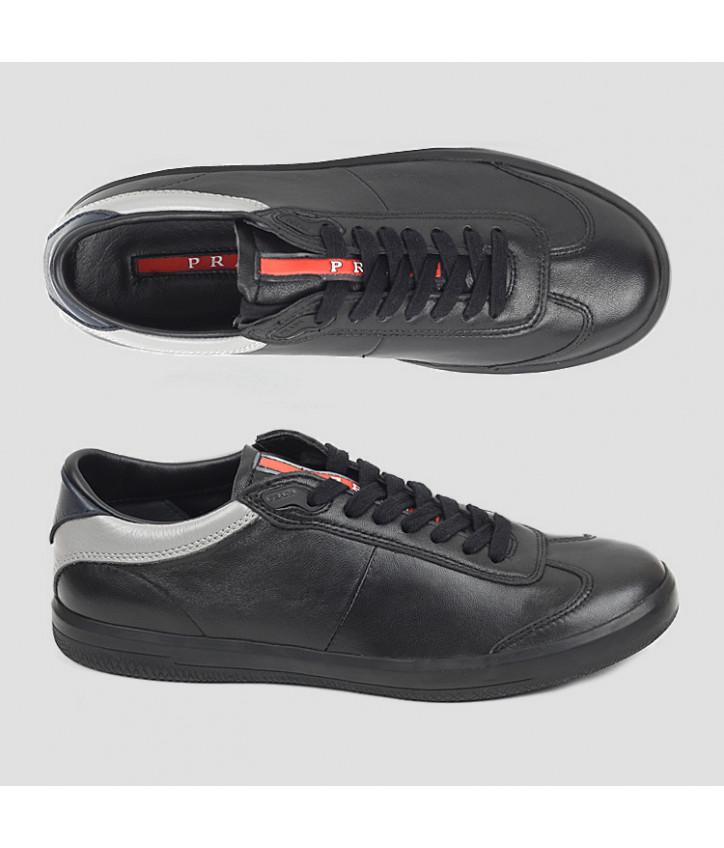56f85746 Купить мужские кожаные кроссовки Prada — в Киеве, код товара 9248