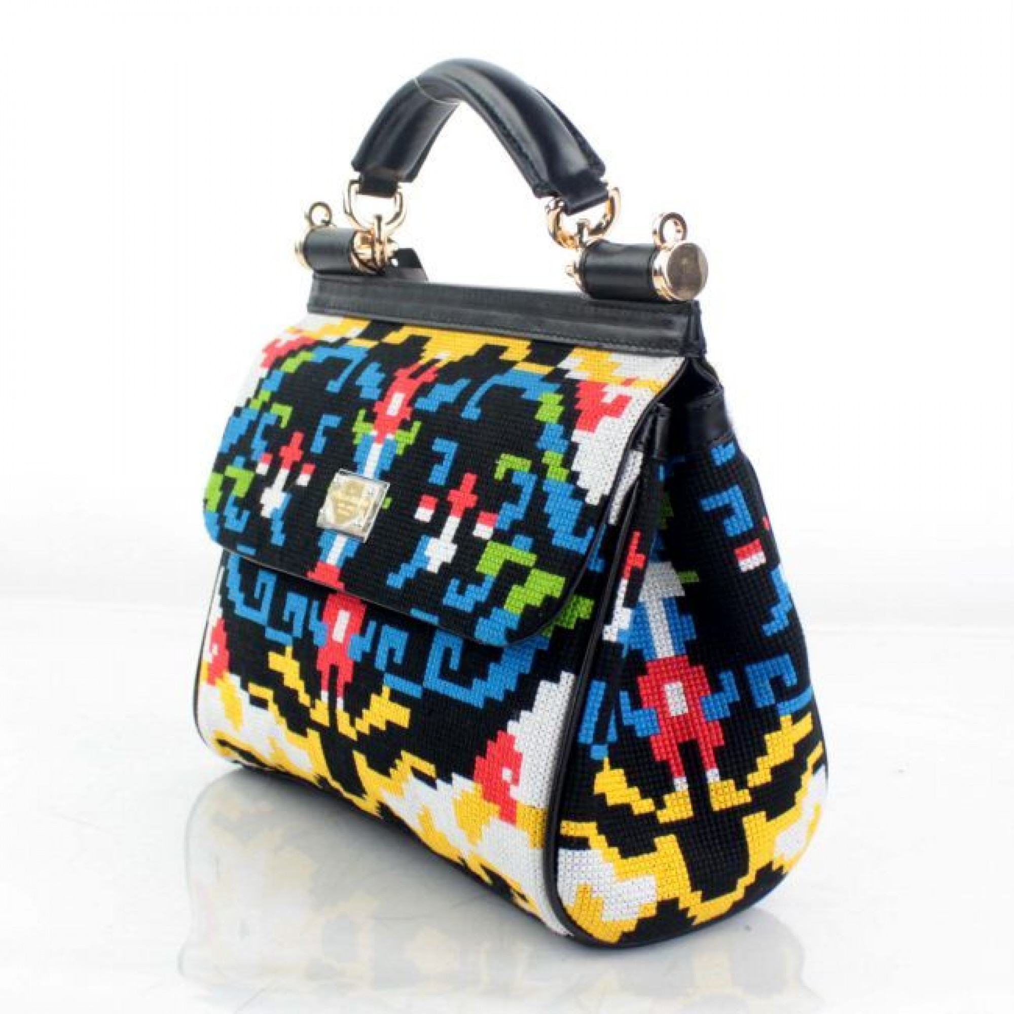 Сумка с вышивкой дольче габбана копия - Клатчи - Женские сумки