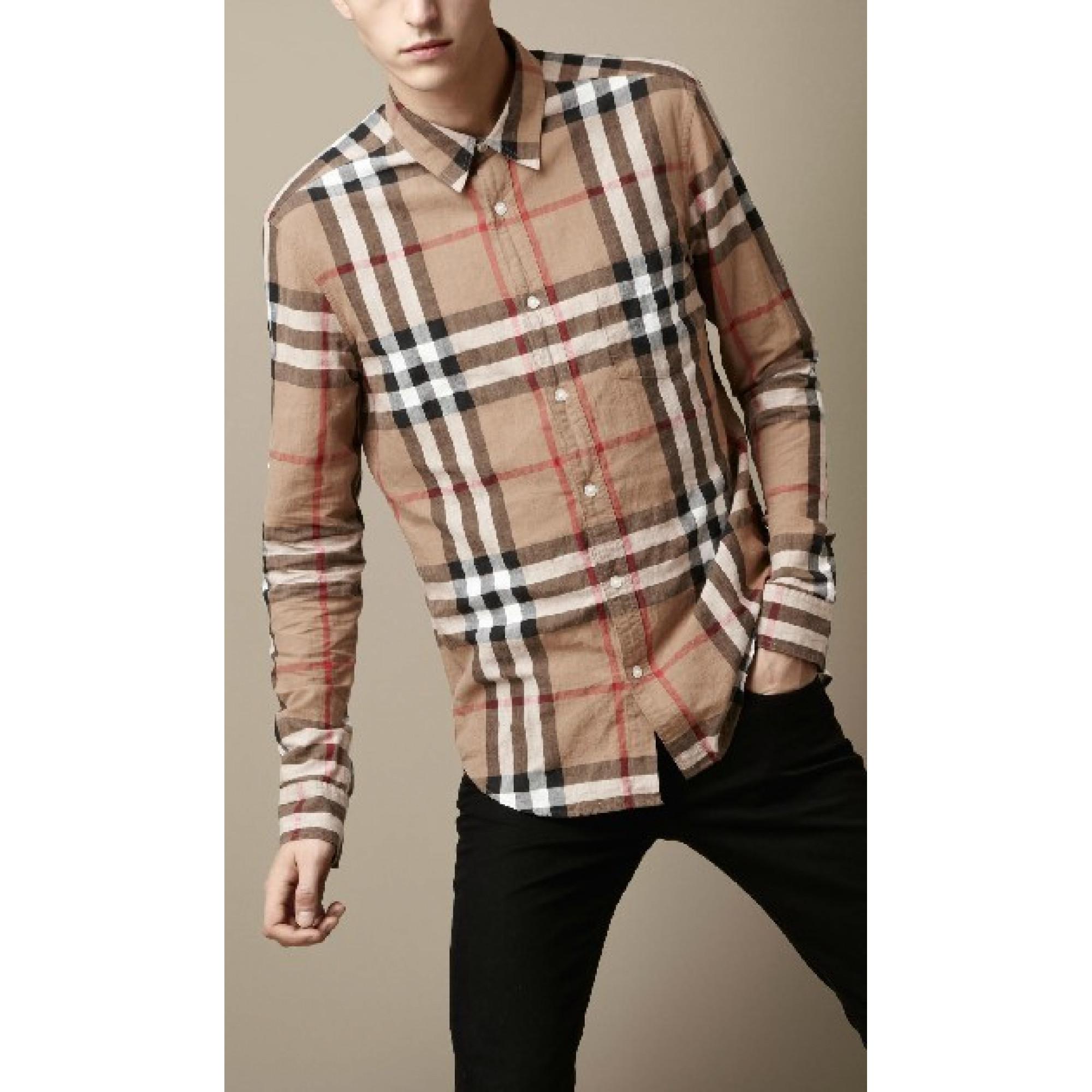 Купить классическая рубашка Burberry — в Киеве, код товара 11280 44a67a8136a