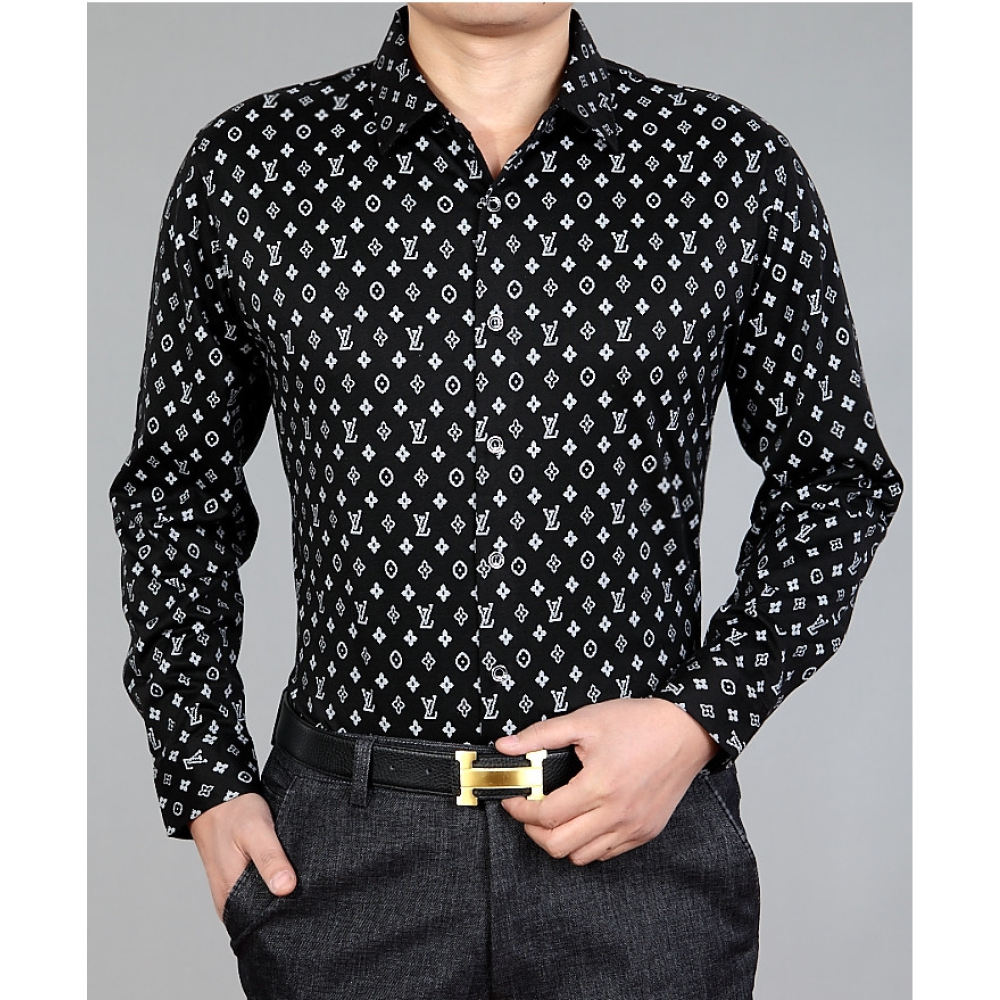 Купить стильная мужская рубашка Louis Vuitton — в Киеве, код товара 3489 1cda4cc1fa4