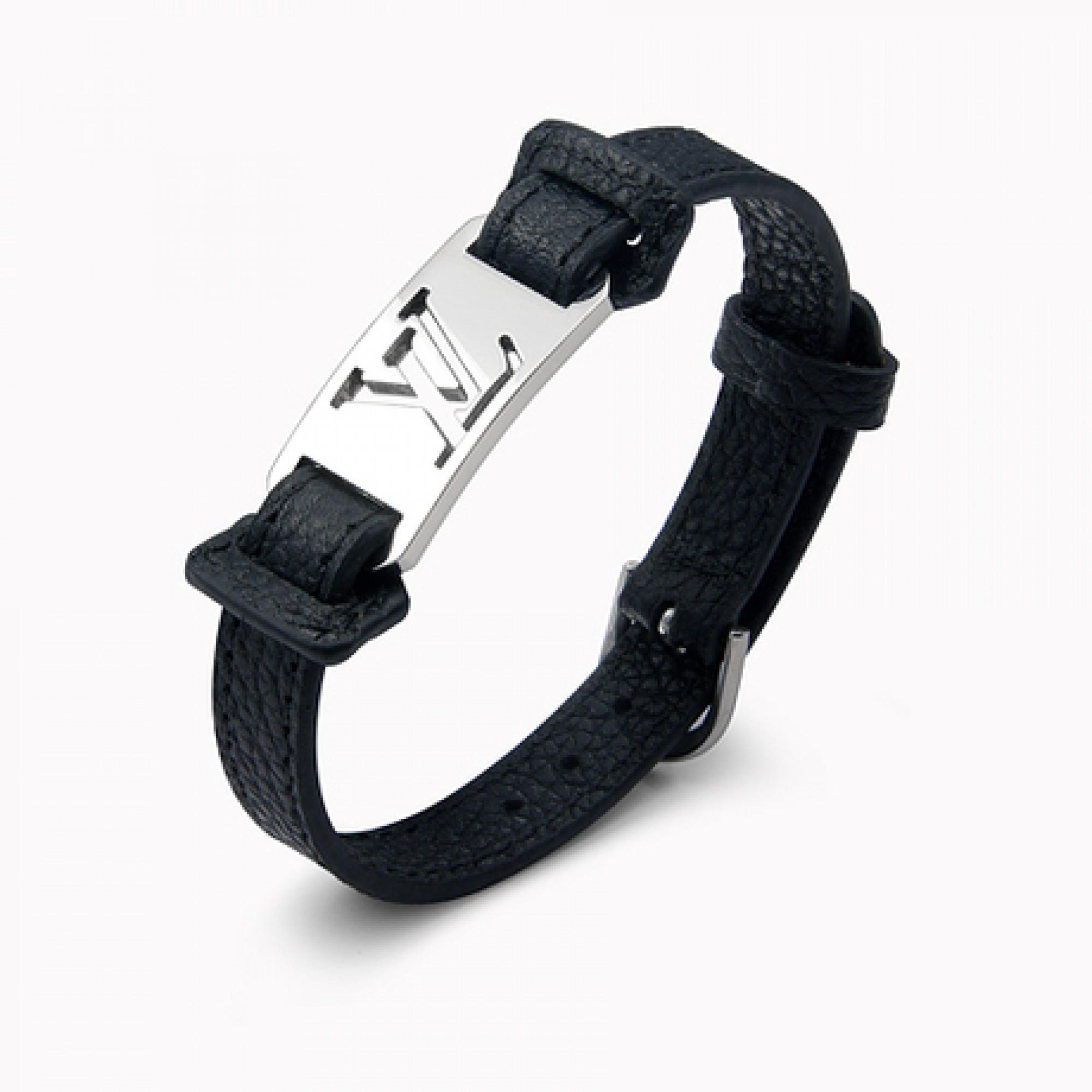 1745b5b9c65 Купить черный браслет Louis Vuitton — в Киеве, код товара 14670