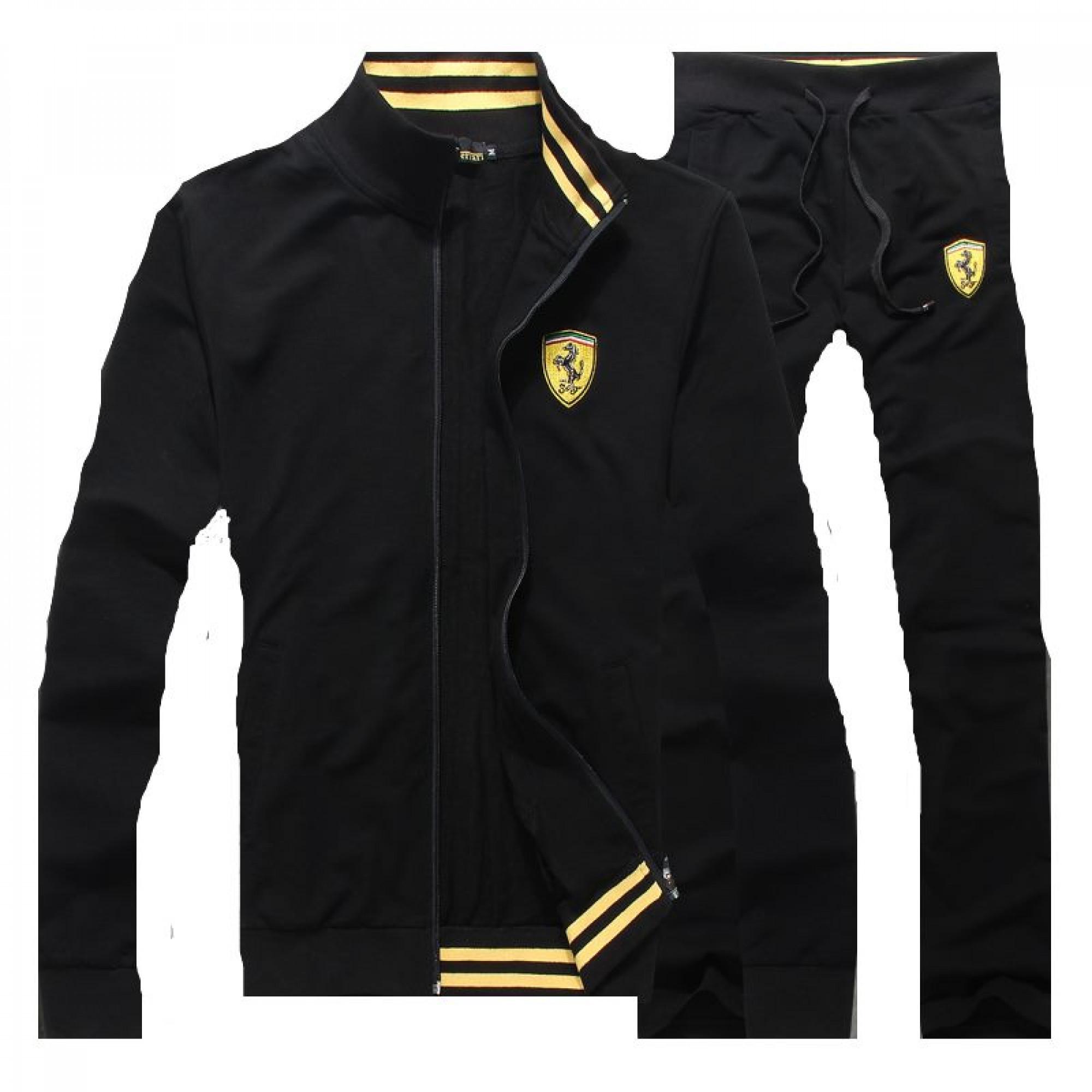 f8201b5f Купить черный спортивный костюм Ferrari — в Киеве, код товара 15115