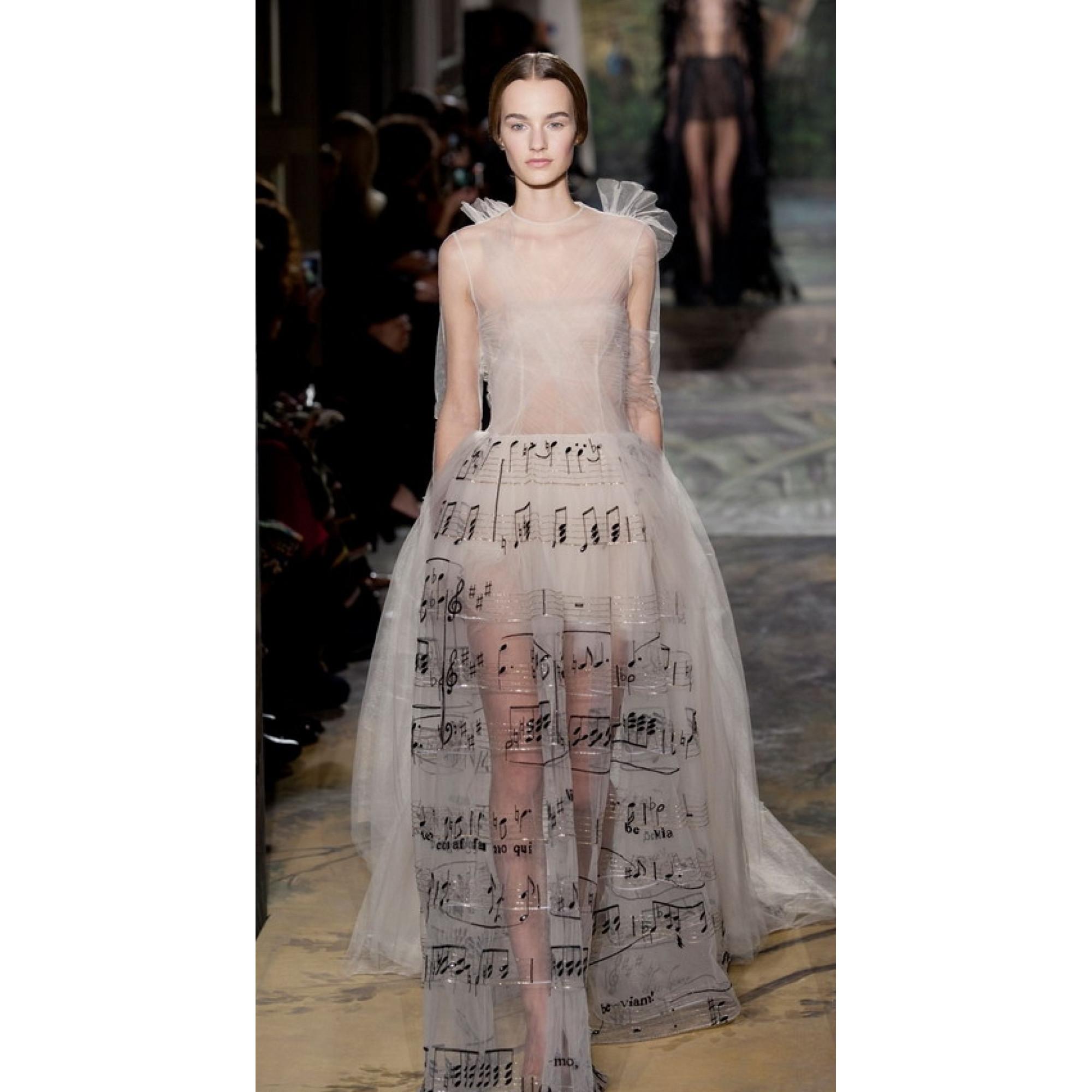 fc3dc0904e87 Платье с нотами от Valentino