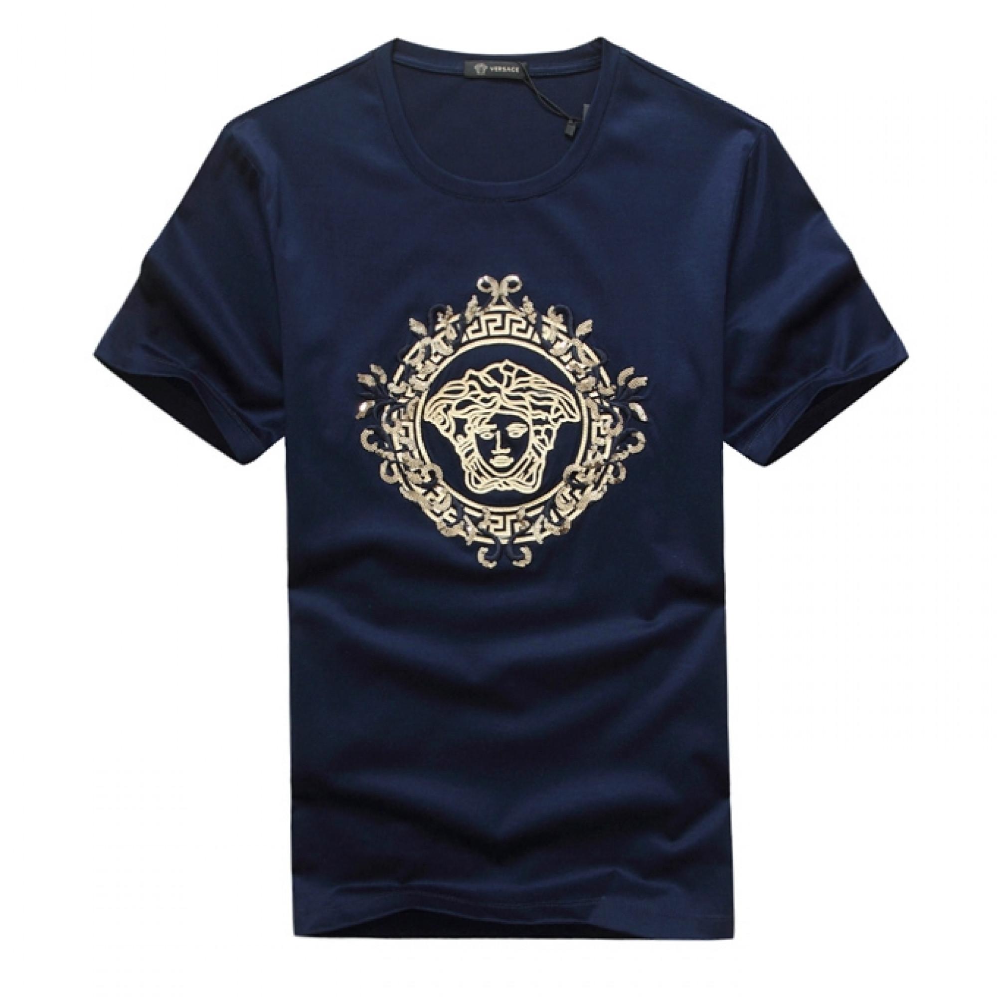 6a8fb3df5531 Купить мужская футболка с логотипом от Versace — в Киеве, код товара ...