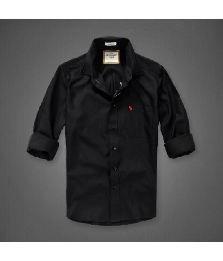 3ba61866de5 Купить черная рубашка Abercrombie   Fitch — в Киеве