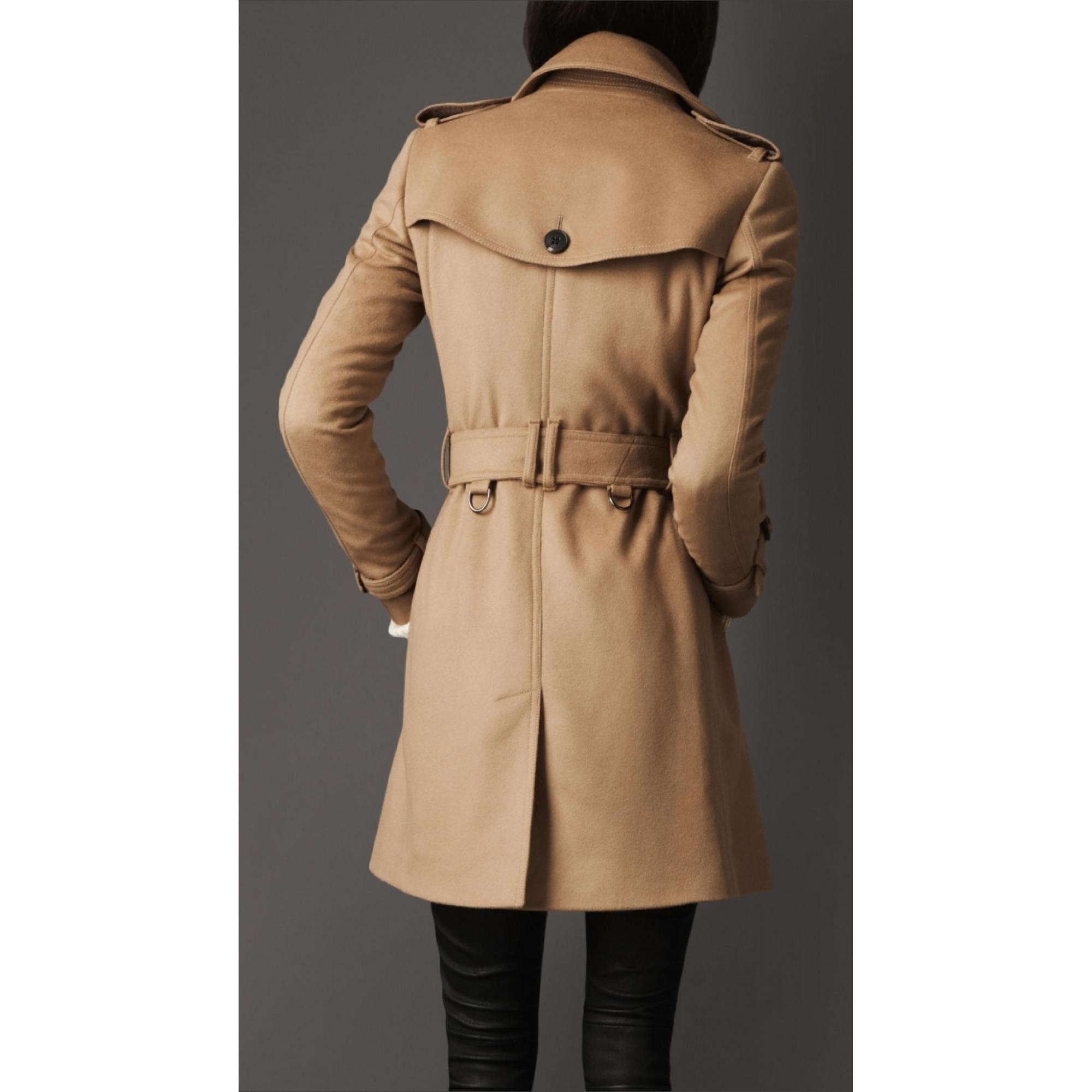 Купить пальто Burberry бежевого цвета — в Киеве, код товара 17559 6679f1b48dd