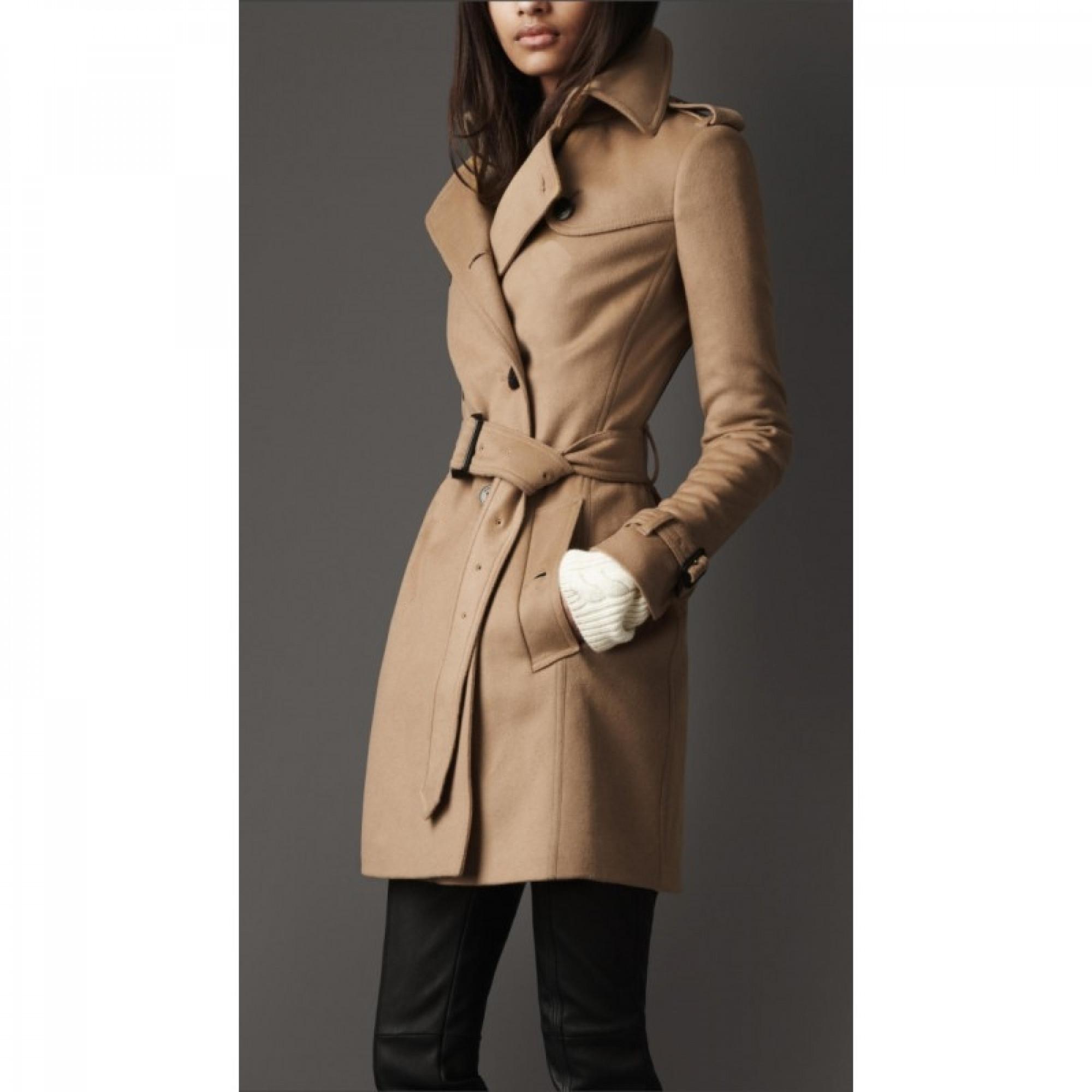 Купить пальто Burberry бежевого цвета — в Киеве 8d57094aced7d