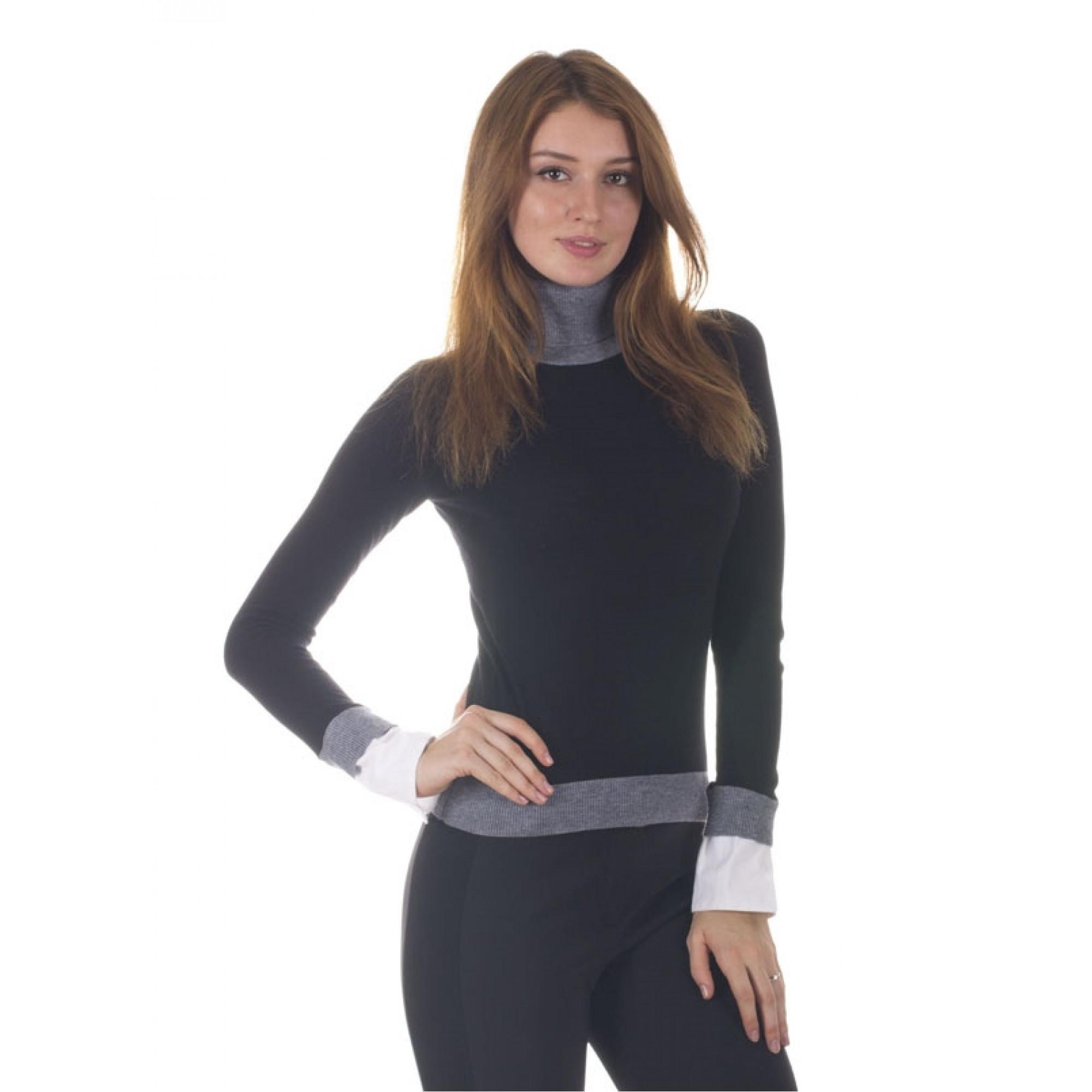 Купить черная водолазка Armani Jeans женская — в Киеве 54230b862ae13