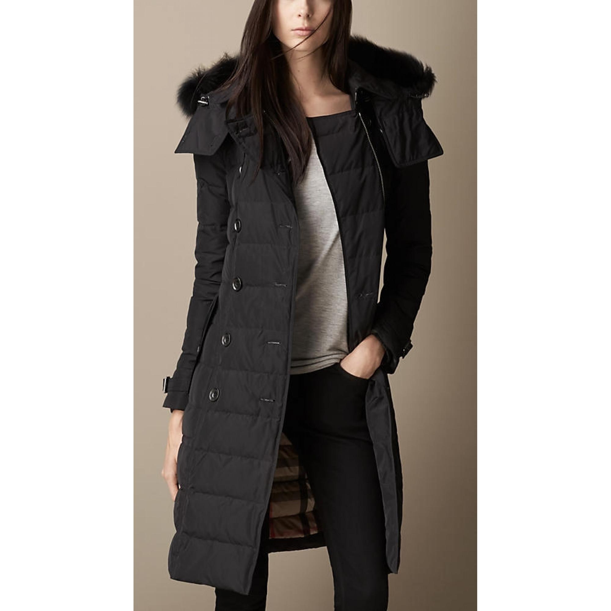Купить черное женское пальто Burberry 2017 — в Киеве, код товара 19379 9484261201e