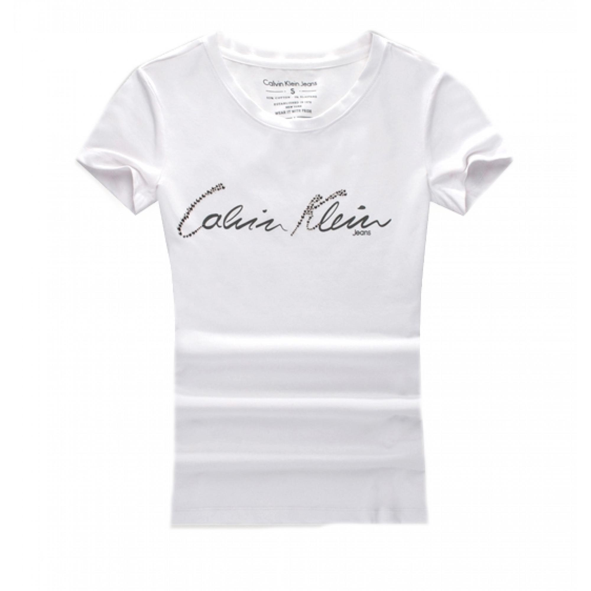 3c03c650279bd Купить белая женская футболка Calvin Klein — в Киеве, код товара 20934