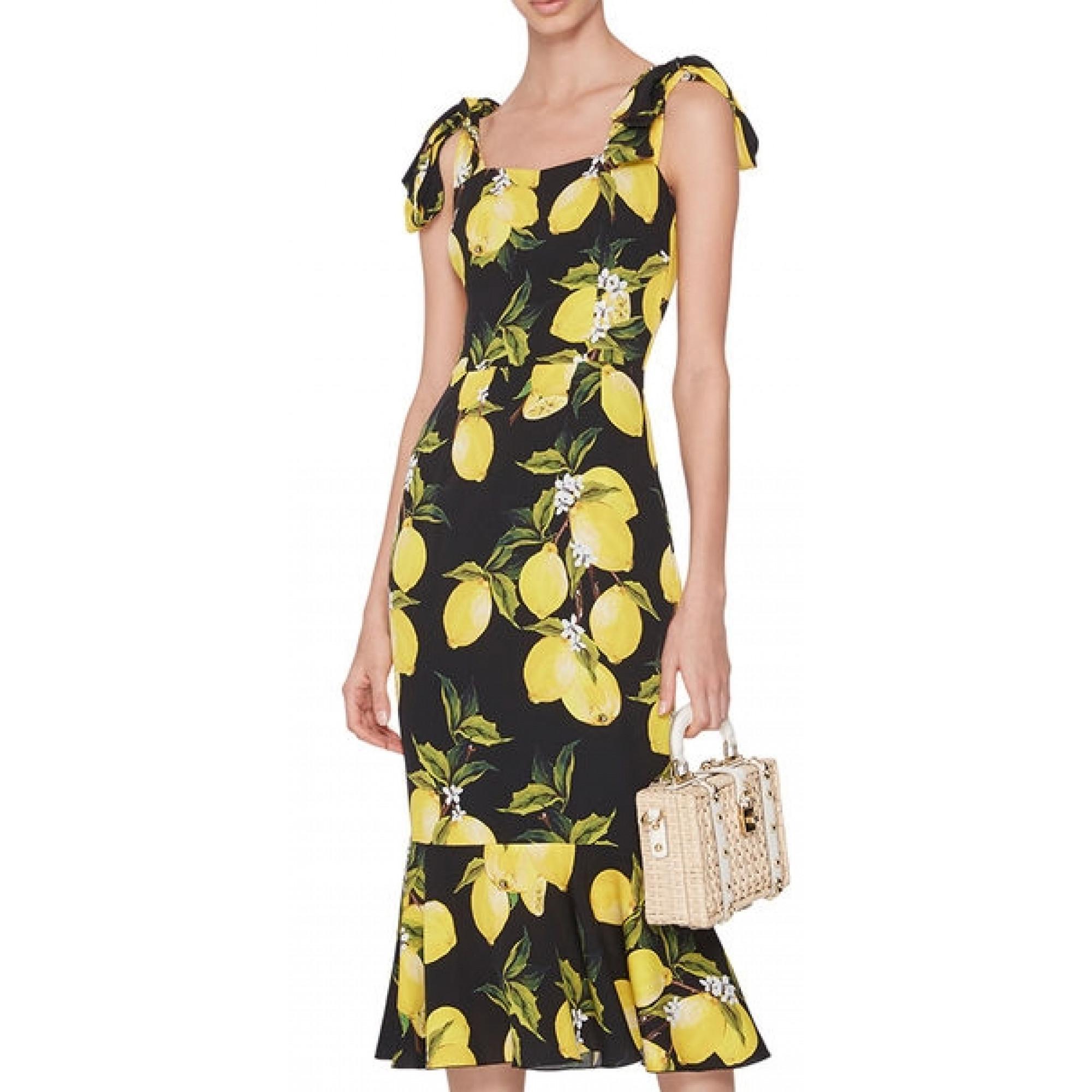 Dolce gabbana платья лимоны