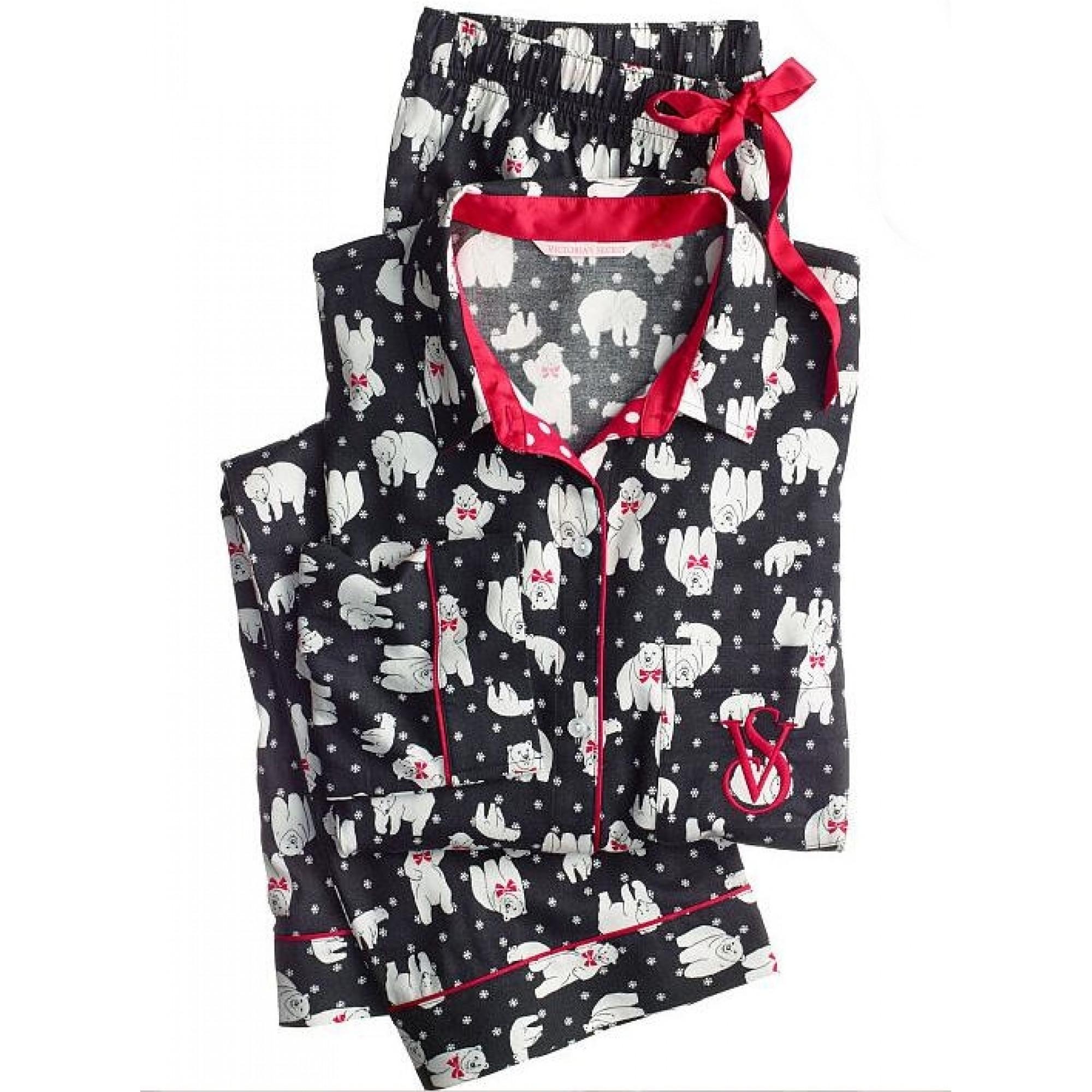 Купить пижама с белым медведем от Виктории Сикрет — в Киеве 2116792c11f61