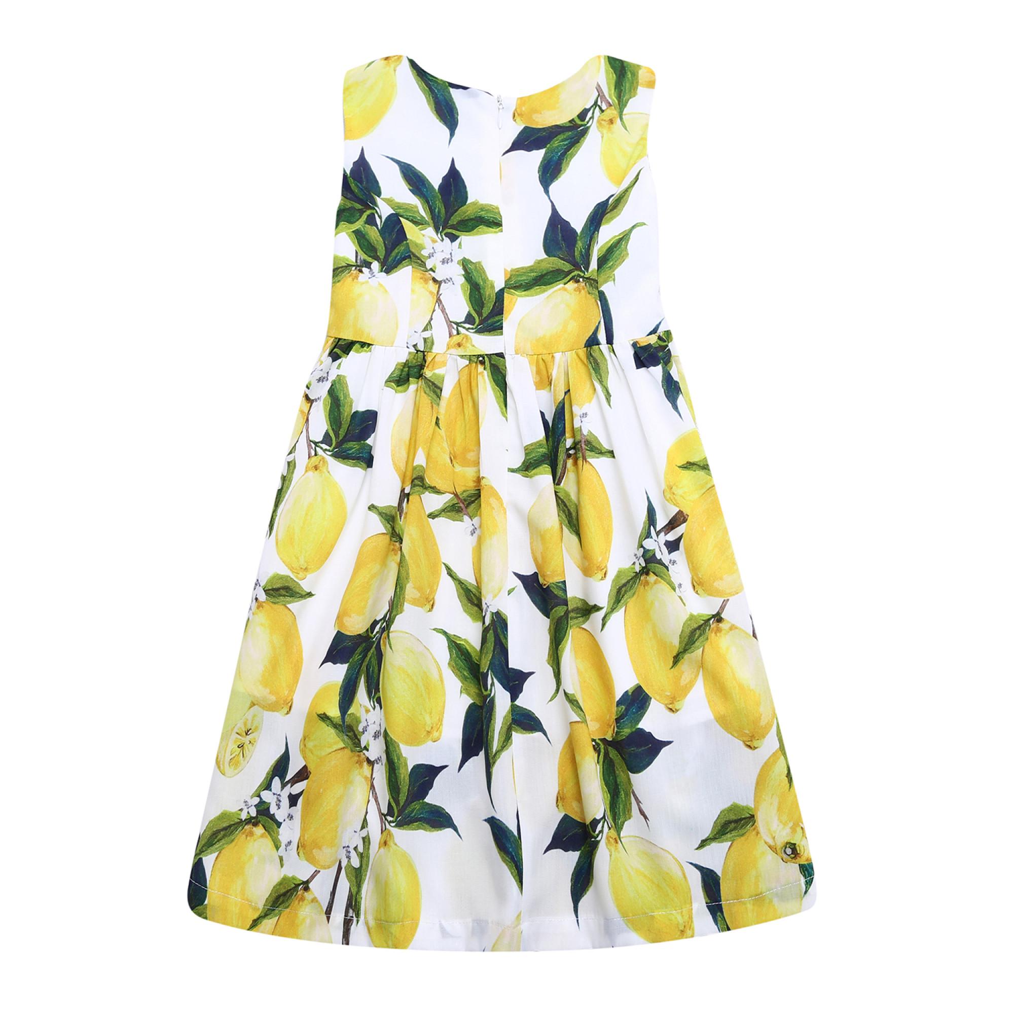 Платья с лимонами дольче габбана