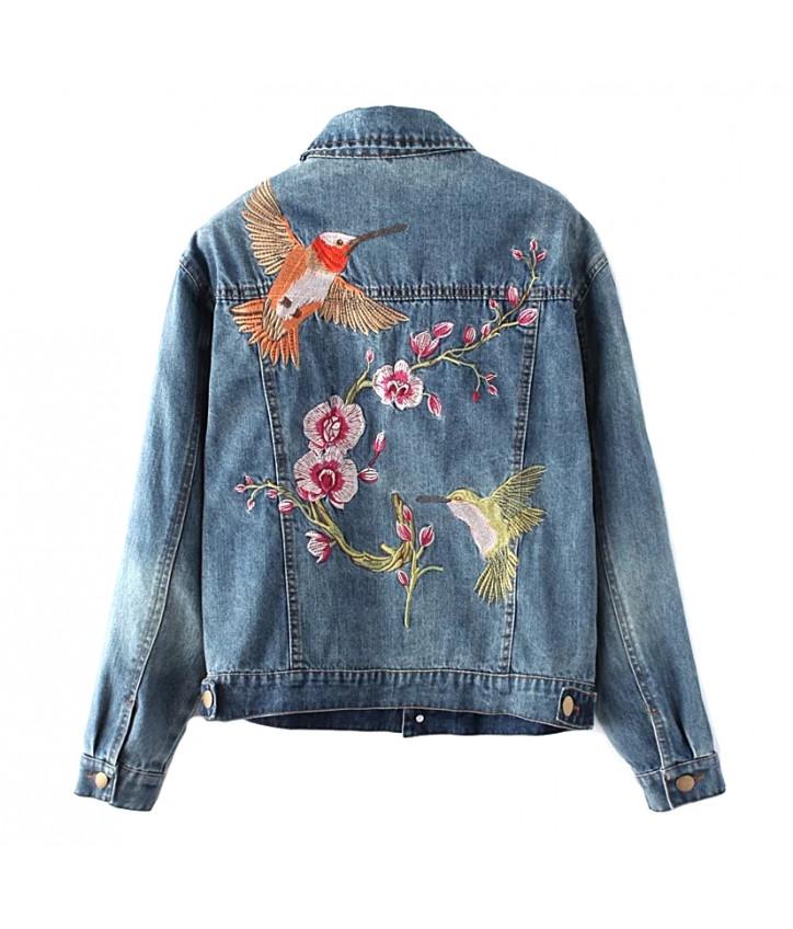 Вышивка на спине на куртке 494