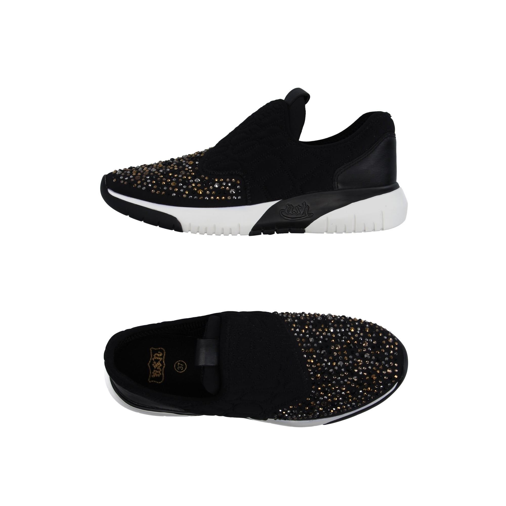 8c3a3f50 Купить черные кроссовки Ash со стразами — в Киеве, код товара 29011