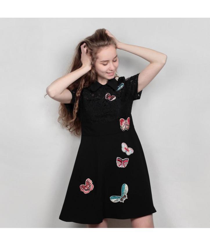 0e961139a96b Стильное платье Anna Sui с ярким узором: купить женские платья в ...