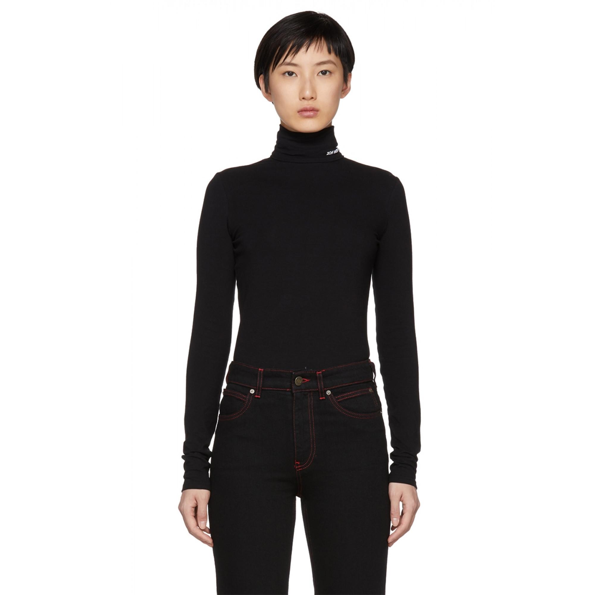 Черная водолазка от Calvin Klein  купить женский свитер и пуловер в ... e2b4312a143b6