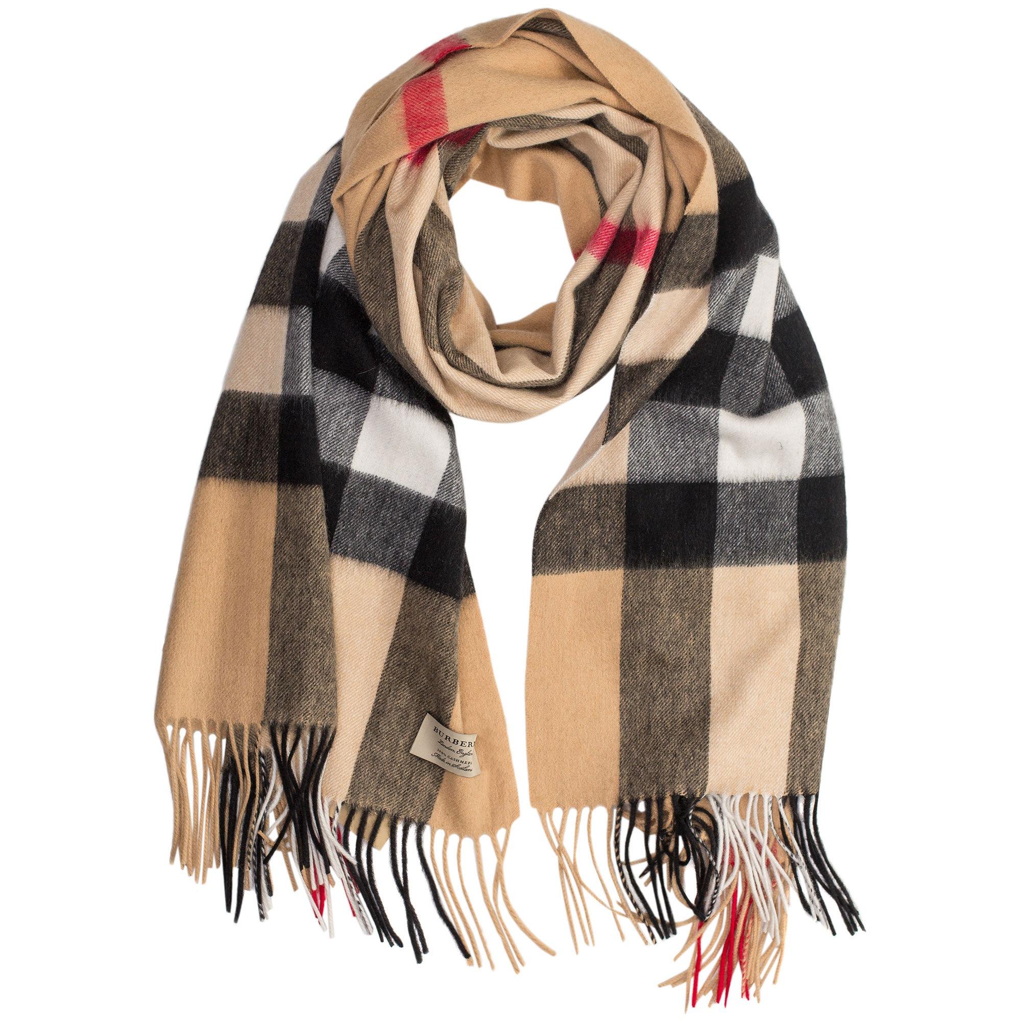 Купить большой шарф Burberry бежевого цвета — в Киеве, код товара 28386 b679b153d3b