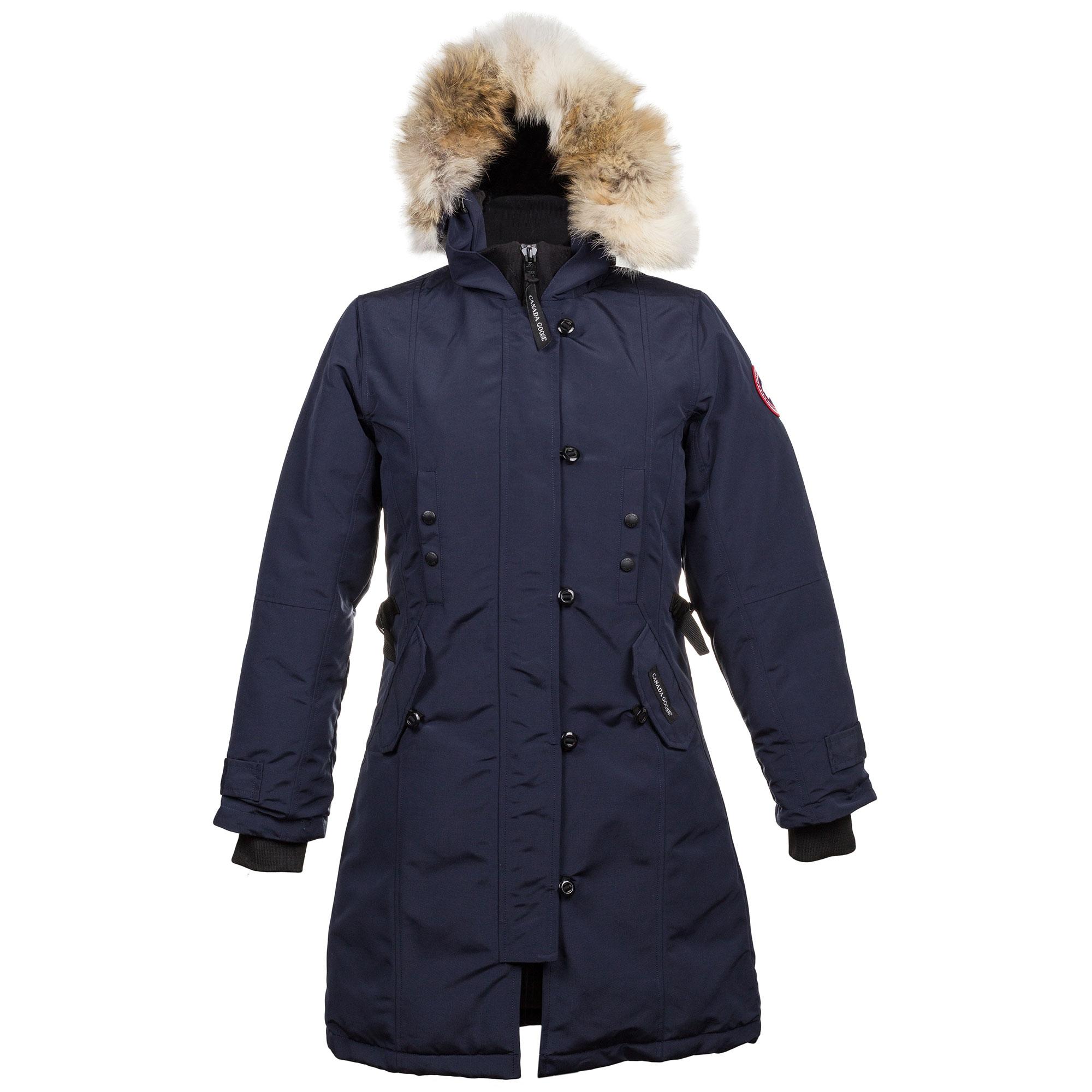 e905e345c18f Купить синий теплый пуховик Canada Goose — в Киеве, код товара 12042
