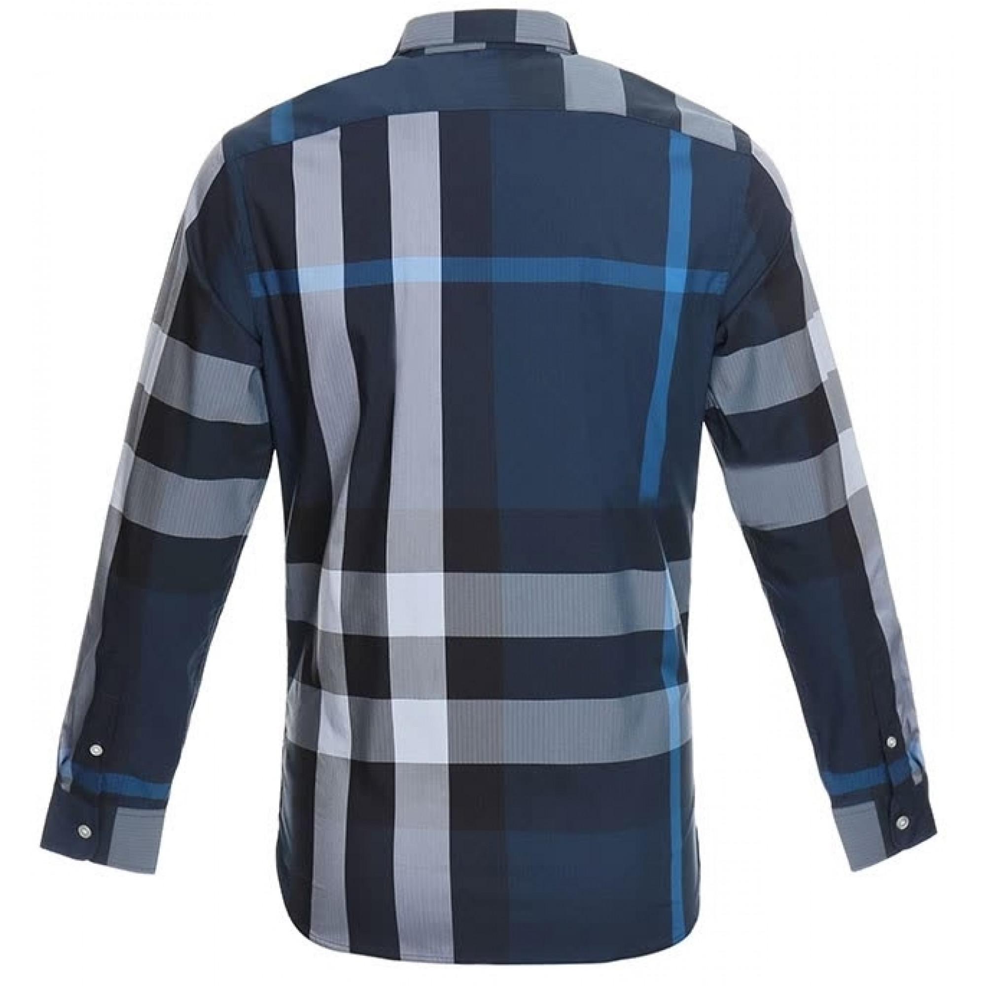 39e85d6897f Мужская рубашка Burberry с карманом  купить мужские рубашки в ...