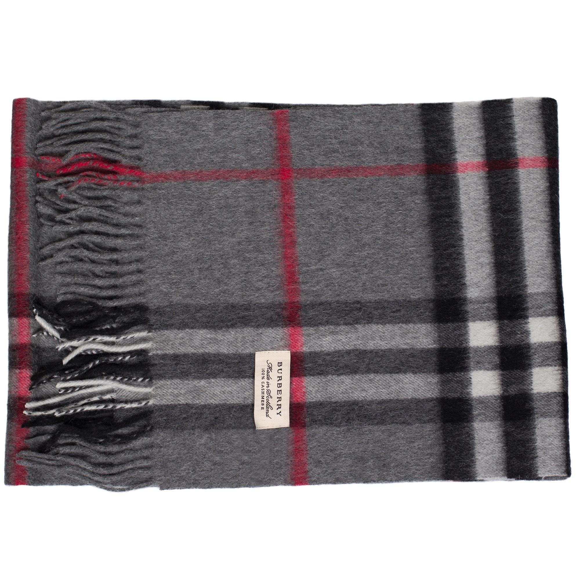 458c9d490178 Купить темный кашемировый шарф Burberry — в Киеве, код товара 7777