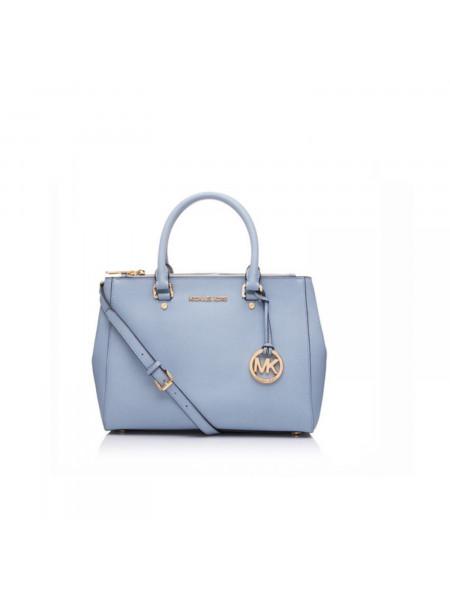 Женская сумка Michael Kors в голубом цвете fade2d6cbda