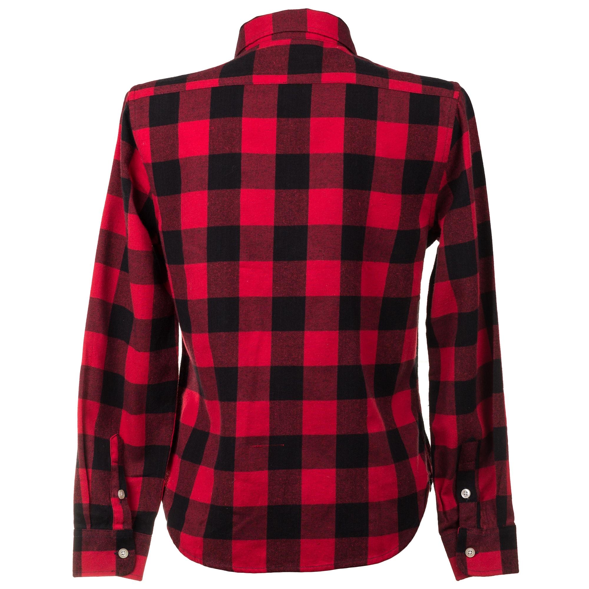88d947f8902 Женская рубашка Abercrombie   Fitch в красную клетку  купить женские ...