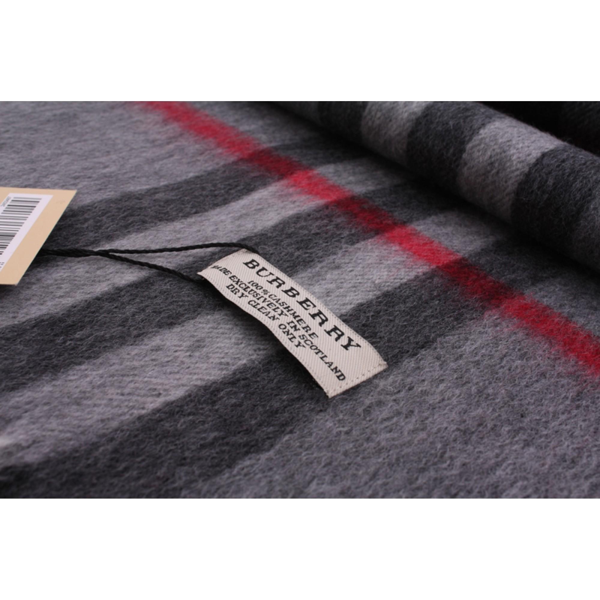 247c5fb76c69 Купить темный кашемировый шарф Burberry — в Киеве, код товара 7777