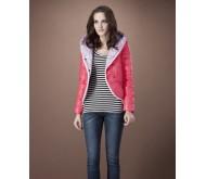 Короткая куртка цвета фуксии от max co