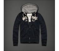 Синяя мужская спортивная кофта Abercrombie&fitch