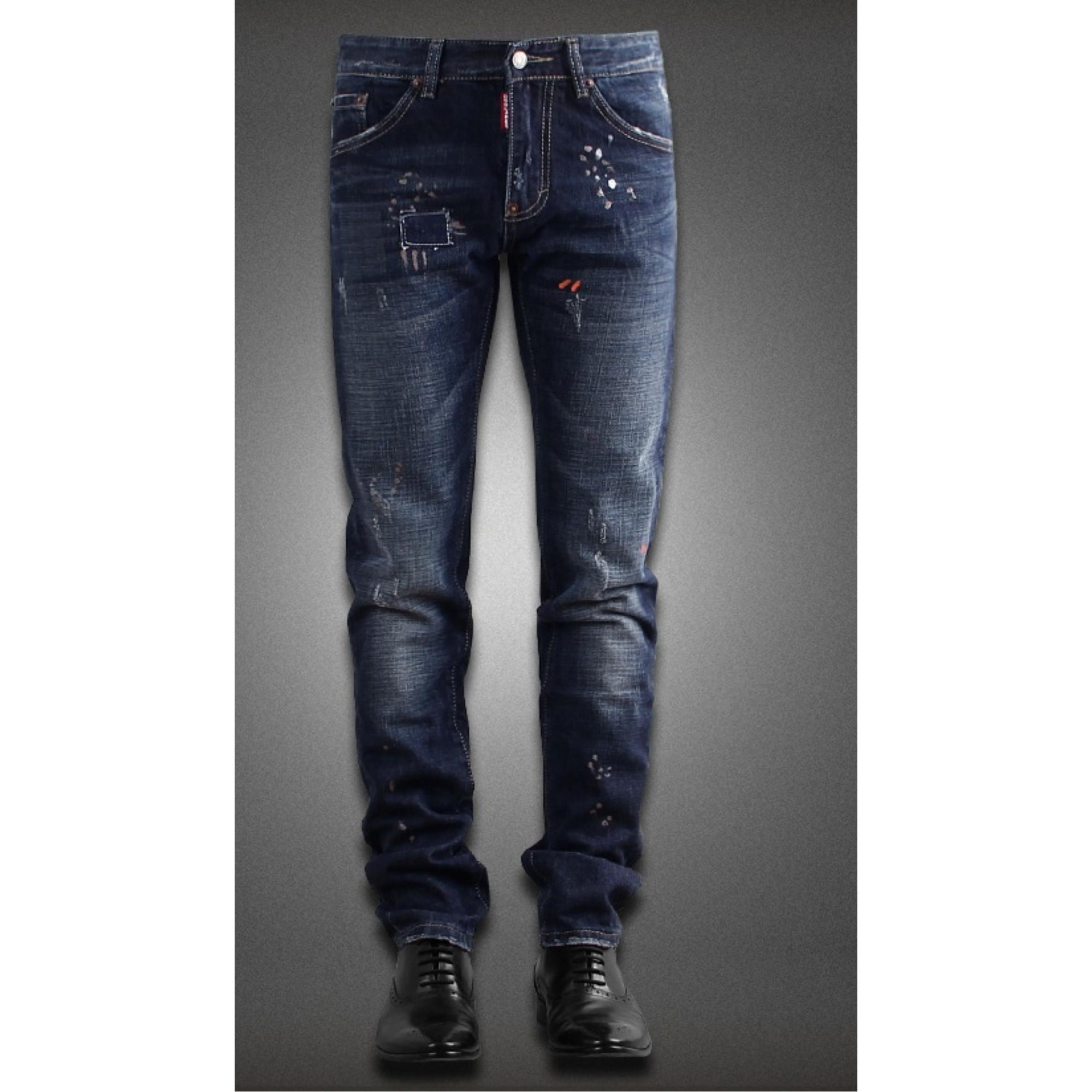 купить мужские джинсы Dsquared 2017 в киеве код товара 8168