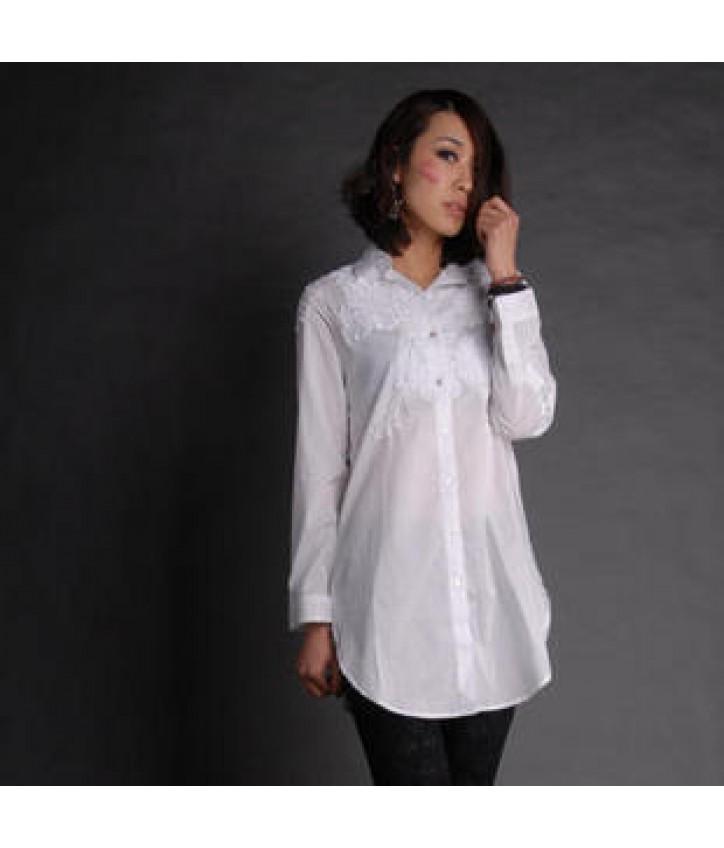 569e5c0c898 Купить белая длинная рубашка D G — в Киеве