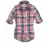 Рубашка розовая Abercrombie & Fitch 5405