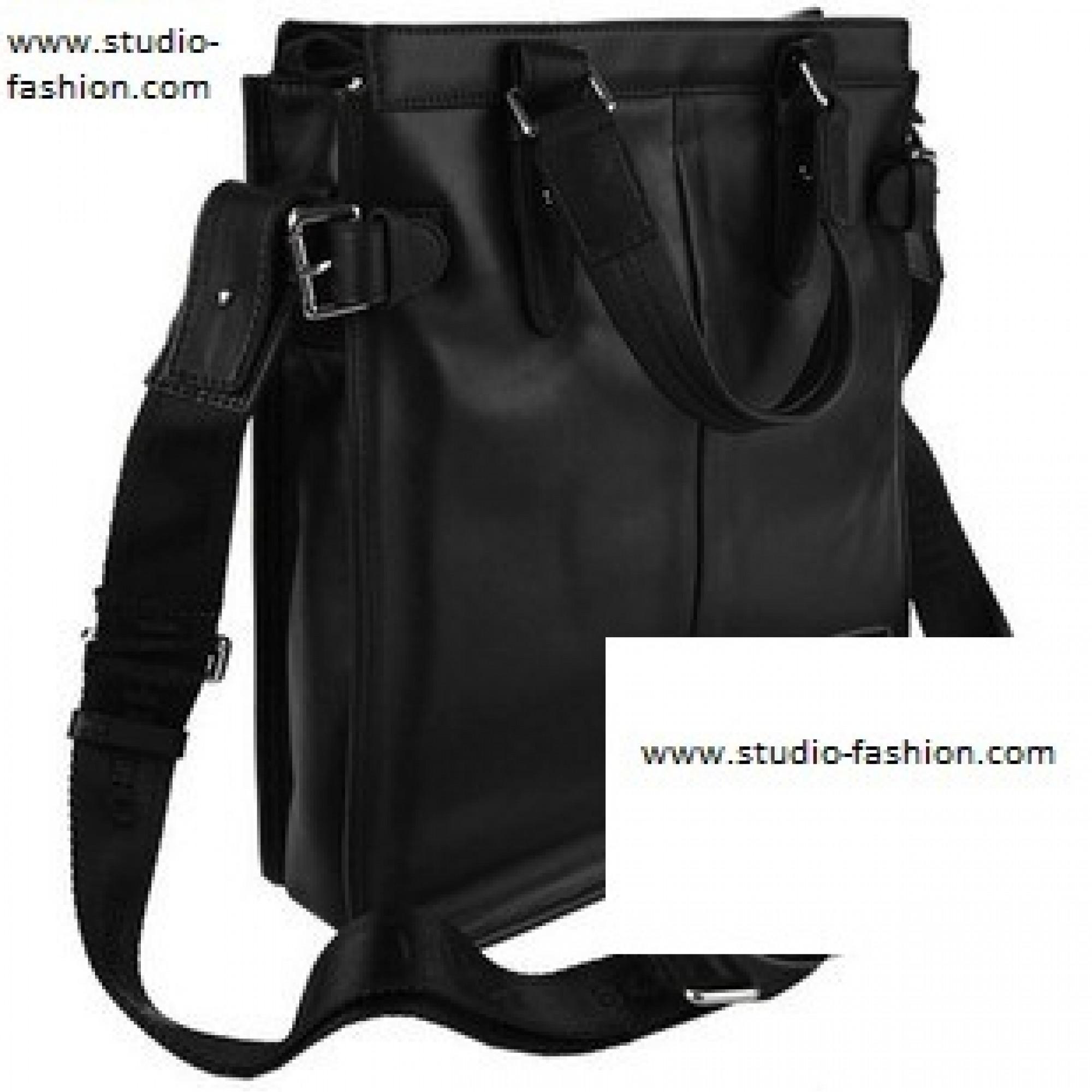 a92e46a16d84 Купить сумка мужская кожаная, черная от Hugo Boss — в Киеве, код ...